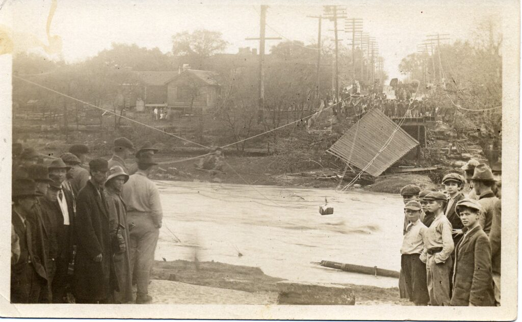 The Great Flood of 1913 and the Polks