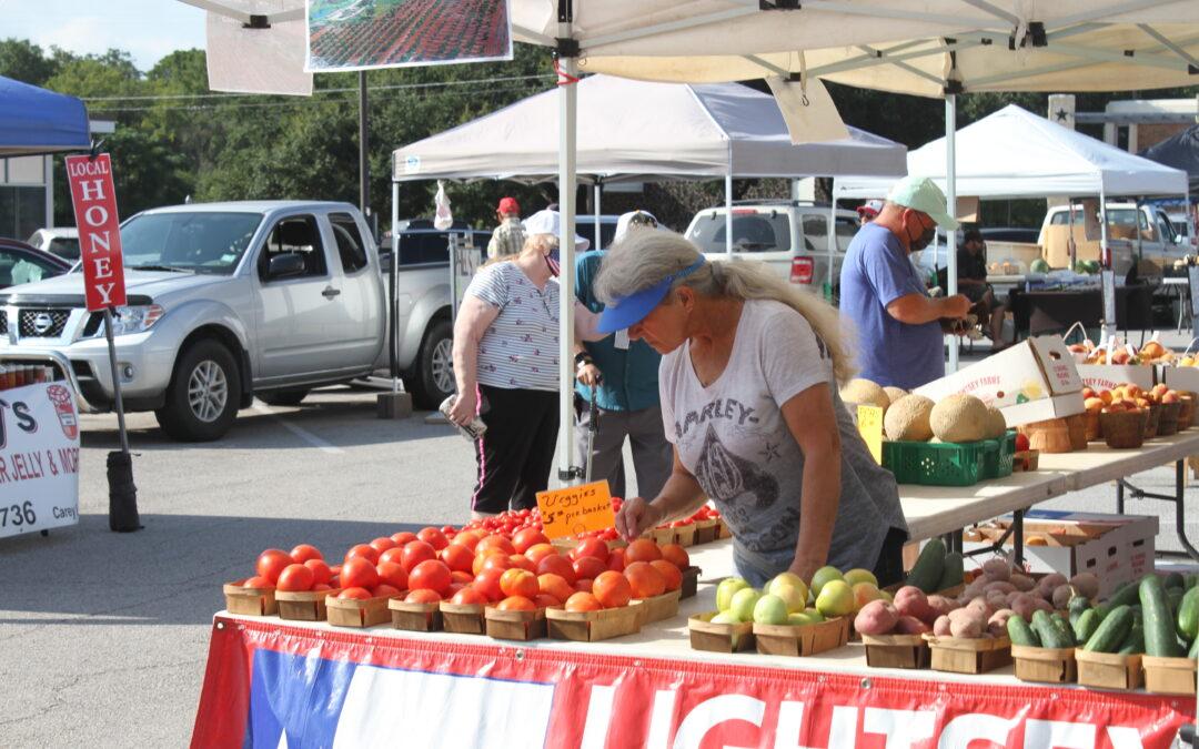 Farmer's Market draws Locals to Water street